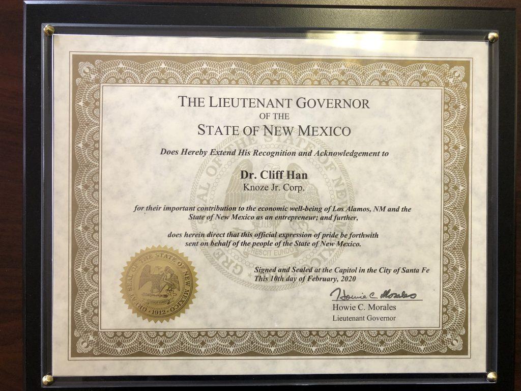 New Mexico SBDC Star Award