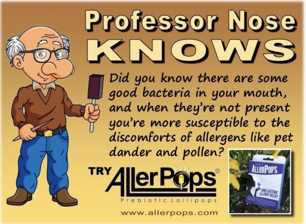 AllerPops Prebiotic Lollipops