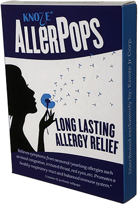 AllerPops for long lasting allergies relief